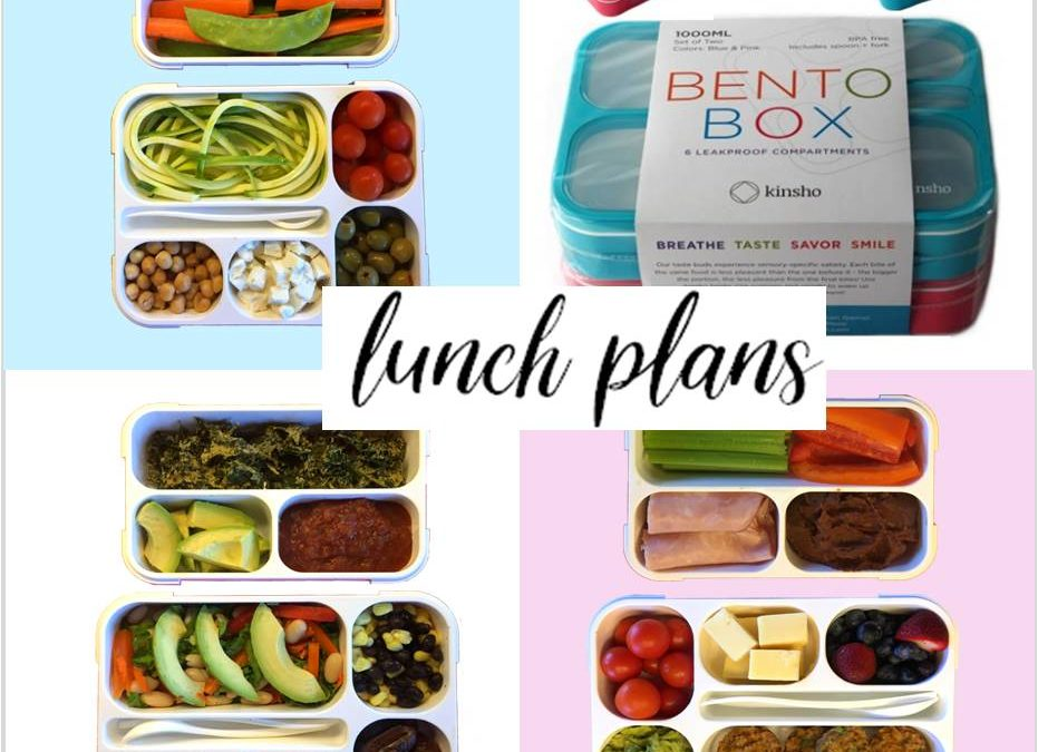 3 Bento Box Meals from a Holistic Nutritionist