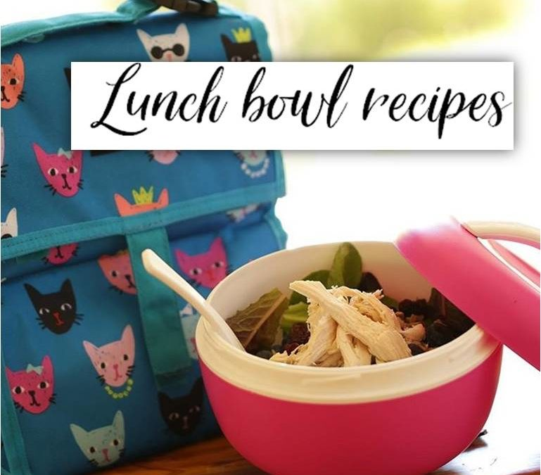 """Lunch Bowl Recipes: Video by """"Entertaining with Beth"""""""