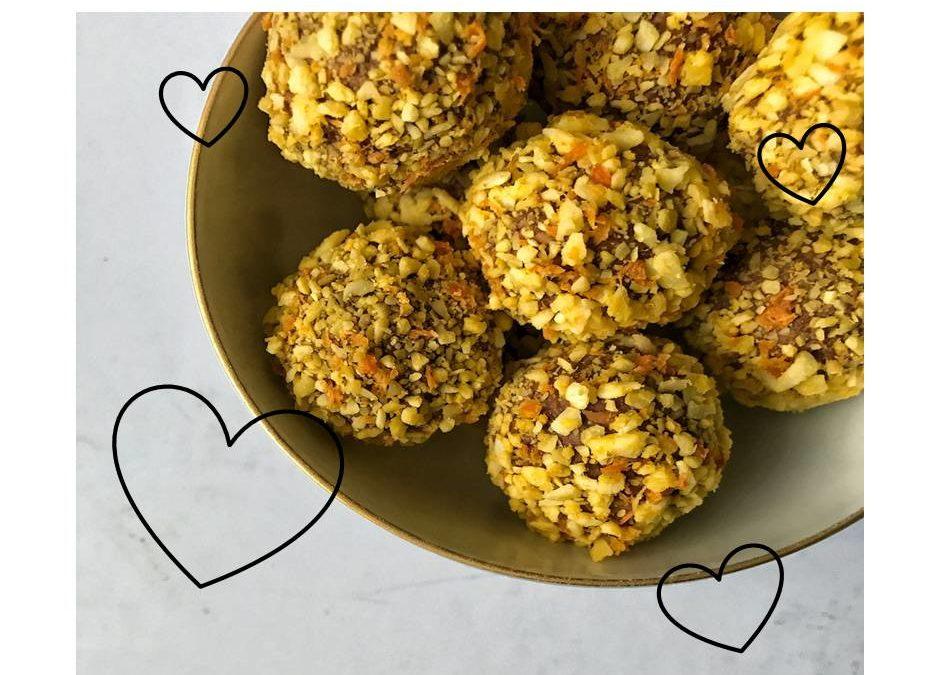 Love Tastes Better + Bento Pumpkin Balls